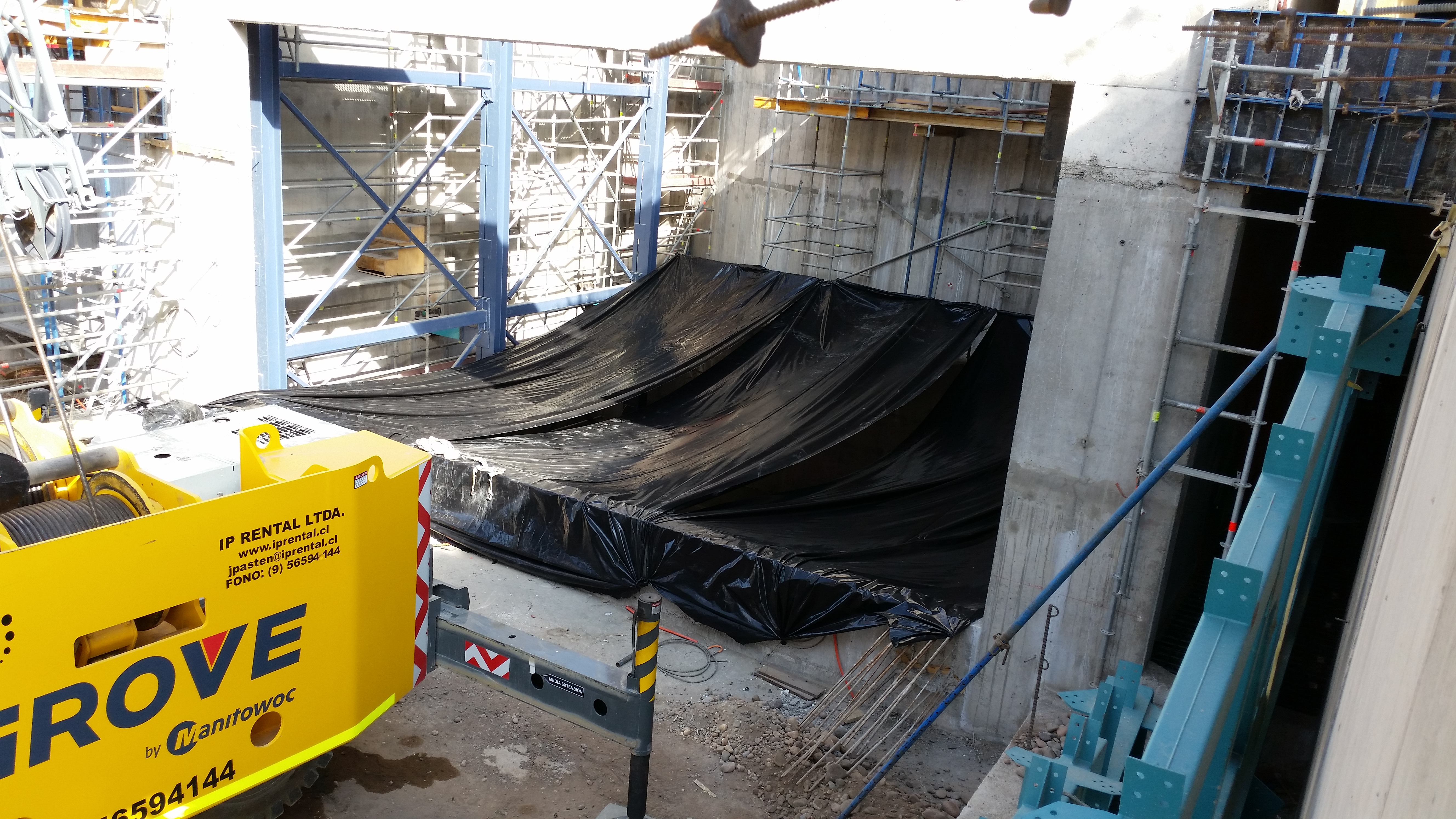 Construction Update | The Large Synoptic Survey Telescope