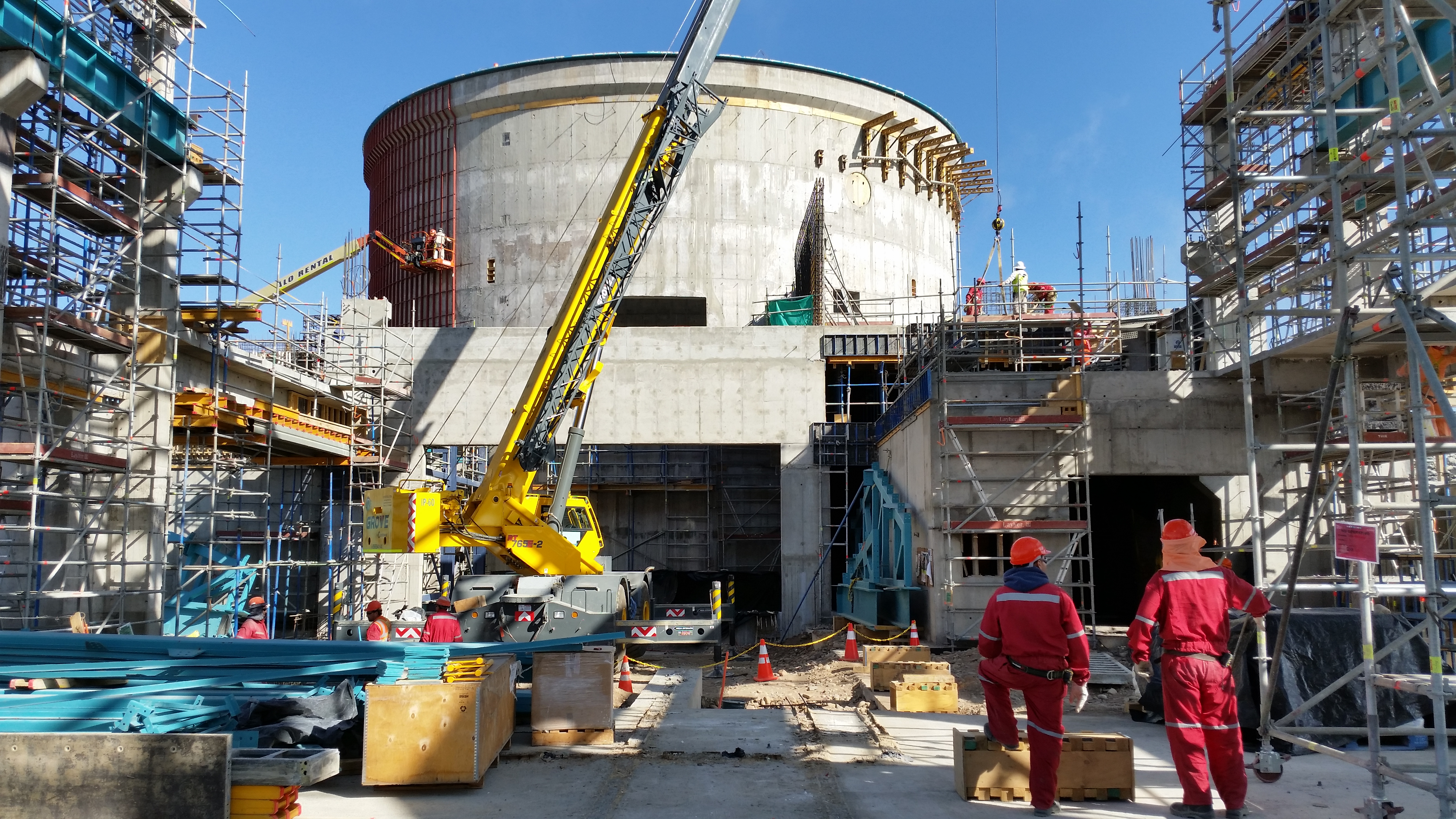Construction Update The Large Synoptic Survey Telescope