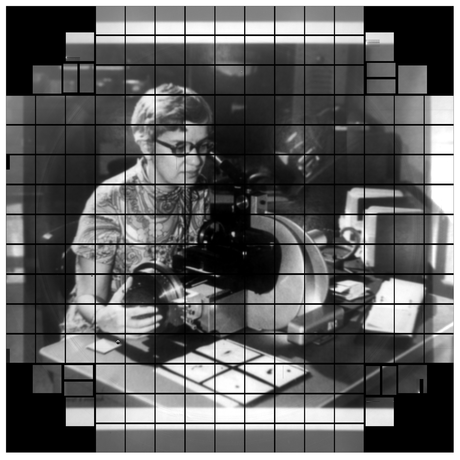 Photo of Vera Rubin, courtesy of the Carnegie Institution for Science, where Vera Rubin spent her career as a staff scientist. Credit: LSST Camera Team/SLAC National Accelerator Laboratory/Rubin Observatory