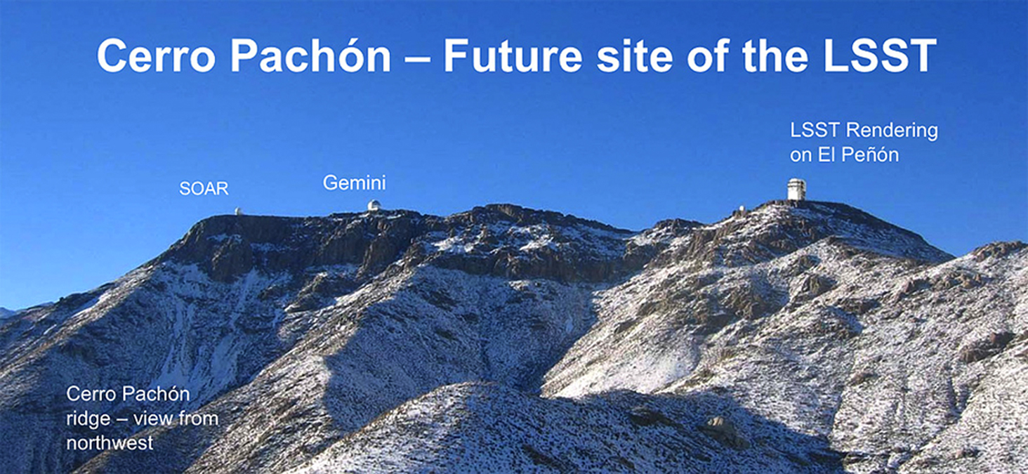 Cerro Pachón | The Large Synoptic Survey Telescope