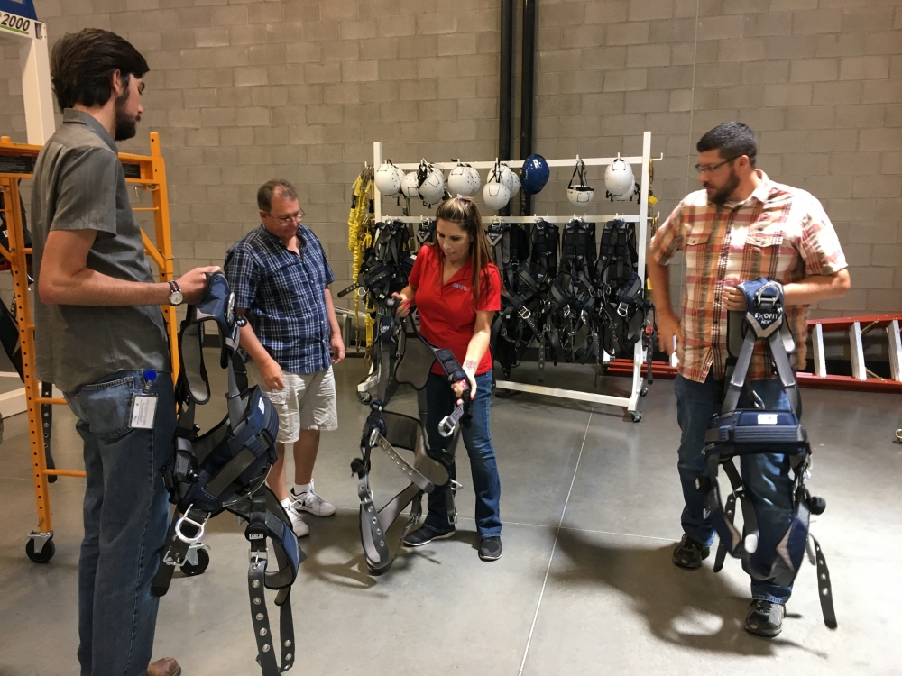 Fall protection training course