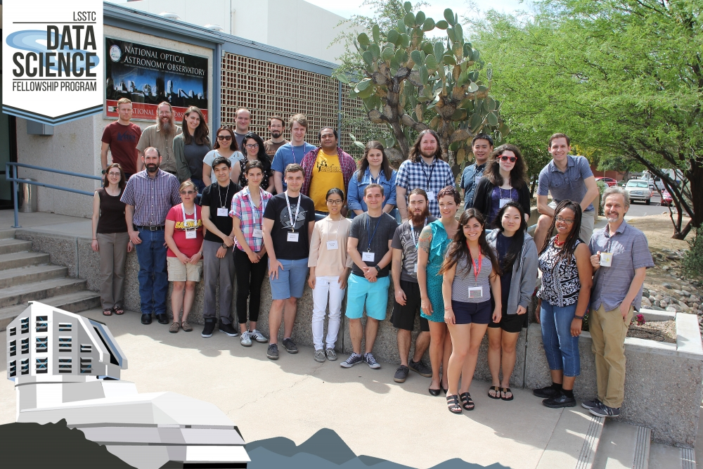 The First Cohort of LSSTC's DSFP, with U of A Student Auditors